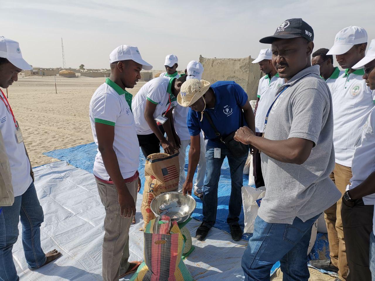 منظمة البر للإغاثة والتنمية بتشاد وبرنامج الأمم المتحددة للأغذية PAM لعام 2019