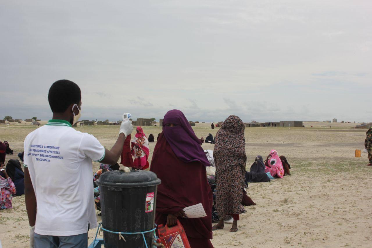 ختام مشروع توزيع المواد الغذائية في قرى بحر الغزال