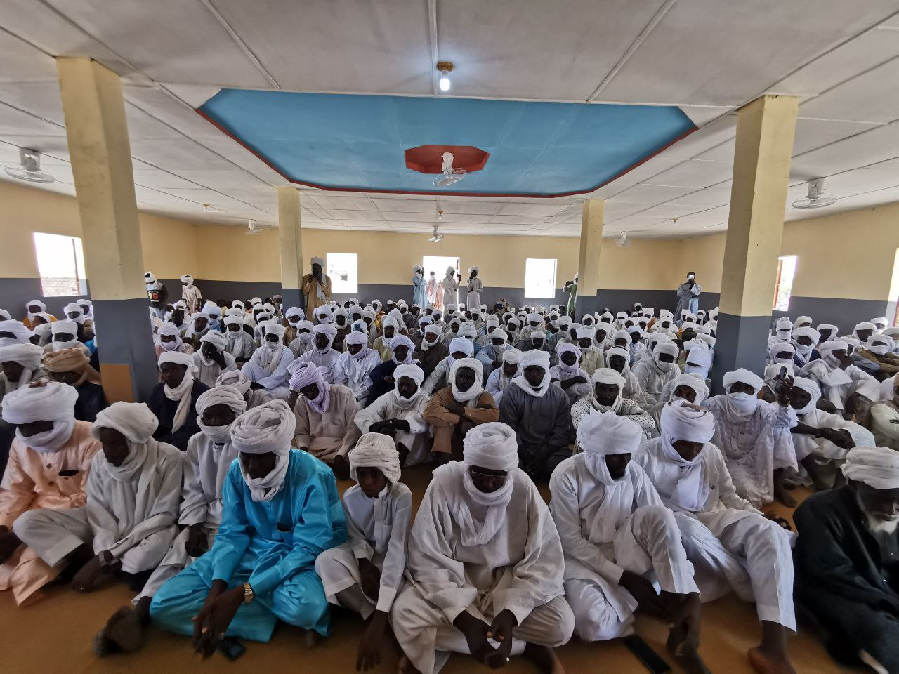 افتتاح مركز بنات عائشة الإسلامي